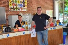 Elternrat beim Getränkeverkauf